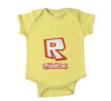 Roblox R Logo One Piece - Short Sleeve