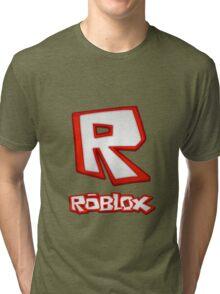 Roblox R Logo Tri-blend T-Shirt