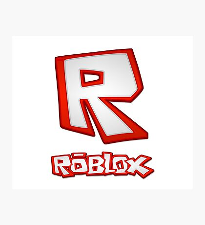 Roblox R Logo Photographic Print