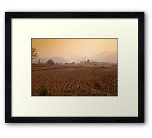 The Dry Season Framed Print