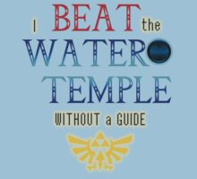 I beat the Water Temple Without a Guide by Dylan Nonya