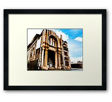 The Old Mar Mansour Church, Downtown Beirut  Framed Print