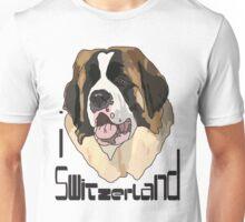 I LOVE SWITZERLAND T-shirt Unisex T-Shirt