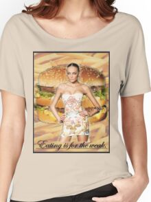 Don't Feed the Models Women's Relaxed Fit T-Shirt