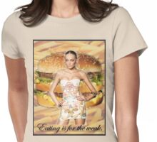 Don't Feed the Models Womens Fitted T-Shirt