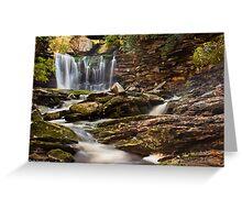 Elakala Falls, Blackwater Falls State Park Greeting Card
