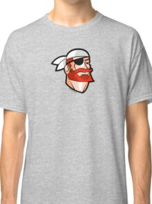 Redbeard the Pirate: Portrait of a Scallywag In A Bandana Classic T-Shirt