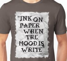 Ink on paper... Unisex T-Shirt