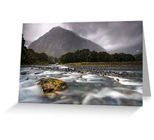 Fiordland National Park at its Best Greeting Card