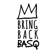 Bring Back Basq iPhone Case by Miles Goscha