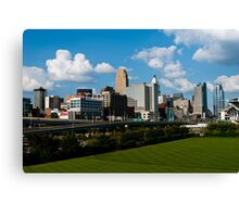 Cincinnati Skyline 9 Canvas Print