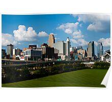 Cincinnati Skyline 9 Poster