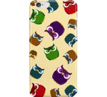 Owl Pattern iPhone Case/Skin