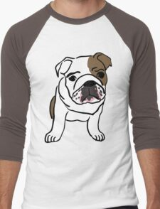 dog / chien Men's Baseball ¾ T-Shirt