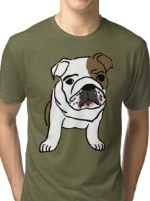 dog / chien Tri-blend T-Shirt