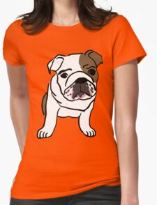 dog / chien Womens Fitted T-Shirt