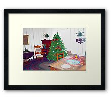 Christmas blast from the past Framed Print