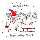 Happy New! by Tatiana Ivchenkova