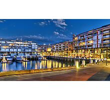 Dining experience, Walsh Bay style Photographic Print