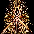Christmas Tree Abstract by Tim Scullion
