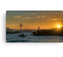 Sunset over Balmain Canvas Print
