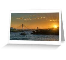 Sunset over Balmain Greeting Card