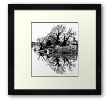 High Key Reflections Framed Print