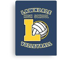 Lawndale HS Volleyball Canvas Print
