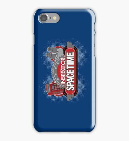 Inspector Spacetime Blorgon Edition iPhone Case/Skin