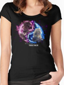 We are Stronger Together Women's Fitted Scoop T-Shirt
