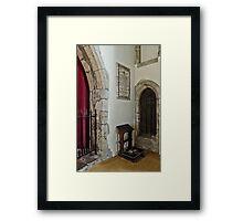 Kneeler Framed Print