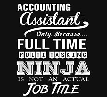 Accounting Assistant T-Shirt