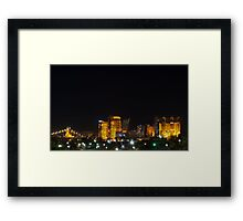 Kentucky skyline 3 Framed Print