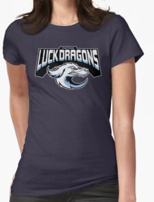 Fantasia Luck Dragons Womens Fitted T-Shirt