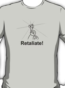 The Retaliating Cheese Asdfmovie Tribute T-Shirt