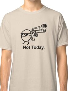 The Captioned Not Today Potato Asdfmovie Tribute Classic T-Shirt
