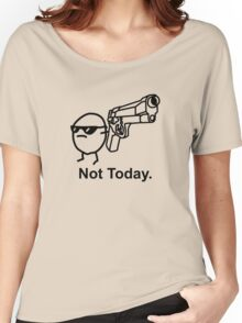 The Captioned Not Today Potato Asdfmovie Tribute Women's Relaxed Fit T-Shirt