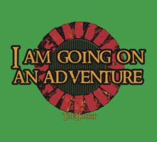 The Hobbit - I am going on an adventure! One Piece - Short Sleeve