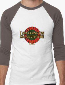 The Hobbit - I am going on an adventure! Men's Baseball ¾ T-Shirt