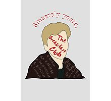 Sincerely The Breakfast Club [ Ipod / Iphone / Ipad / Print ] Photographic Print