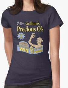 Gollum's Precious O's Womens Fitted T-Shirt