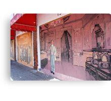 Chinatown Mural Canvas Print