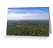 Distant Sleeping Giant Greeting Card