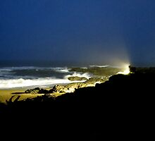All Lit Up...Yachats, Oregon by trueblvr
