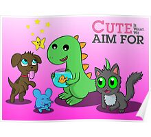 LBN: Cute Is What We Aim For Poster