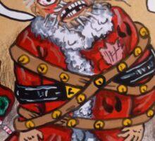 Mad Santa Sticker