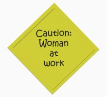 Woman at work Baby Tee