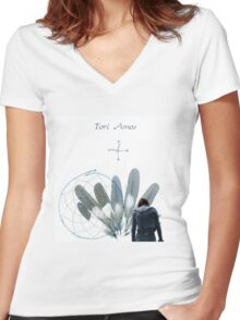 Tori Amos - Gone Walkabout Women's Fitted V-Neck T-Shirt