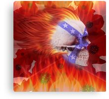 FLAMIN REMEMBERANCE Canvas Print