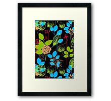 Foliage RGB [iPhone / iPod Case and Print] Framed Print